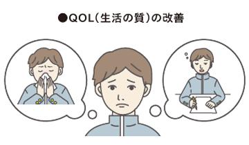 舌下免疫療法の期待される効果4