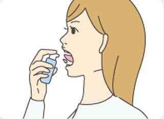 舌下免疫療法投薬イメージ